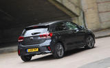 Kia Rio GT Line 2018 UK first drive review hero rear