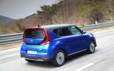 Kia Soul EV 2019 first drive review - hero rear
