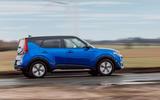 Kia Soul EV 2020 UK first drive review - hero side