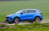 Kia Sportage GT-Line S 48V 2018 first drive review hero side