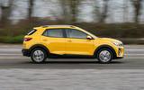 2 Kia Stonic 48v 2021 UK first drive review hero side
