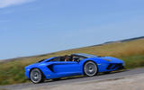 Lamborghini Aventador S 2018 first drive review hero side