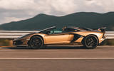 Lamborghini Aventador SVJ Roadster 2019 first drive review - hero side