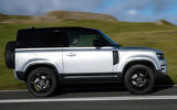 2 Land Rover Defender 90 D250 2021 UK first drive review hero side