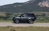 2 Land Rover Defender V8 2021 UK FD hero side