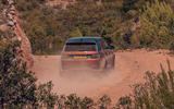 Land Rover Discovery Sport 2019 first drive review - hero rear