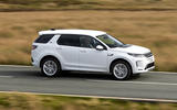 Land Rover Discovery Sport P300 PHEV 2020 UK first drive review - hero side