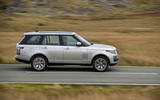 Land Rover Range Rover D350 mild hybrid 2020 UK first drive review - hero side