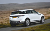 Land Rover Range Rover Evoque P200 2019 UK first drive review - hero rear