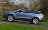 Land Rover Range Rover Velar 2019 UK first drive review - hero side