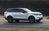 2 Land Rover Range Rover Velar PHEV 2021 UK first drive review hero side