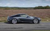 2 Lexus LC500 2021 UK FD hero side