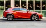 Lexus UX 2019 UK first drive review - hero side