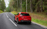 Lexus UX 250h F Sport 2018 first drive review hero rear