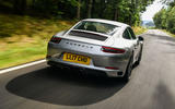 Litchfield Porsche 911 Carrera T 2018 first drive review - hero rear
