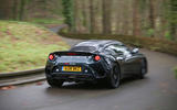 Lotus Evora GT410 Sport 2018 UK review on the road rear