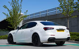 2 Maserati Ghibli Hybrid 2021 UK FD static rear