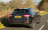 Maserati Levante GranSport V6 2018 first drive - hero rear
