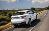 Maserati Levante Gransport 2018 UK first drive review hero rear