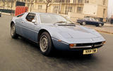Maserati Merak - static front