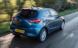Mazda 2 Sport Nav 2020 UK first drive review - hero rear