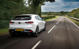 Mazda 3 100th Anniversary edition 2020 UK first drive review - hero rear