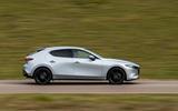 2 Mazda 3 e Skyactiv X 2021 UK fd hero side