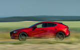 Mazda 3 Skyactiv-X 2019 first drive review - hero side