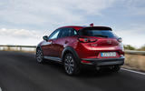 Mazda CX-3 2018 first drive review hero rear