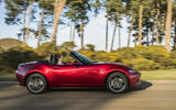 Autocar writers car of 2020 - Mazda MX 5 side