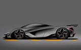McLaren son of P1 render 2024 - static side
