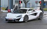 McLaren Sports Series Hybrid prototype front side