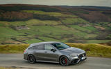 Mercedes-AMG CLA 45 S Shooting Brake 2020 UK first drive review - hero side