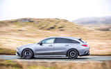 Mercedes-AMG CLA 35 Shooting Brake 2020 UK first drive review - hero side