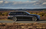 2 Mercedes AMG E52 2021 UK first drive review hero side