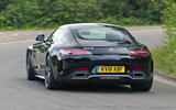 Mercedes-AMG GT C 2018 first drive review hero rear