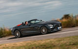 Mercedes-AMG GT Roadster 2019 UK first drive review - hero side