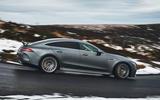 Mercedes-AMG GT 63 S 4-door Coupé 2019 UK first drive review - hero side