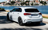 Mercedes-Benz A-Class A180D hero rear