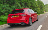 Mercedes-Benz A-Class A250 2018 UK review hero rear