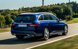 Mercedes-Benz C-Class C 300de estate 2018 first drive review - hero rear