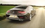 Mercedes-Benz CLS 450 2018 UK review hero rear