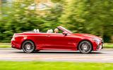 Mercedes-Benz E-Class e450 Cabriolet 2020 UK first drive review - hero side