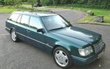 Mercedes-Benz E320 estate - static front