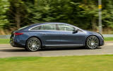 2 Mercedes Benz EQS 2021 UK LHD FD hero side