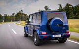 Mercedes-Benz G400d 2019 first drive review - hero rear