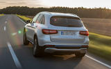 Mercedes-Benz GLC F-Cell 2018 first drive review - hero rear
