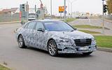 Mercedes-Benz S-Class - spy shot
