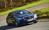 Mercedes-Benz S450L - tracking front