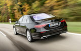 Mercedes-Benz S-Class S500 2020 first drive review - hero rear